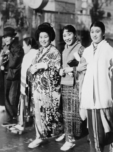Japanese passengers aboard SS President Coolidge, 1936