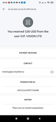 $1 per survey ~ 5 minutes of work :  https://surveytime.app/explore