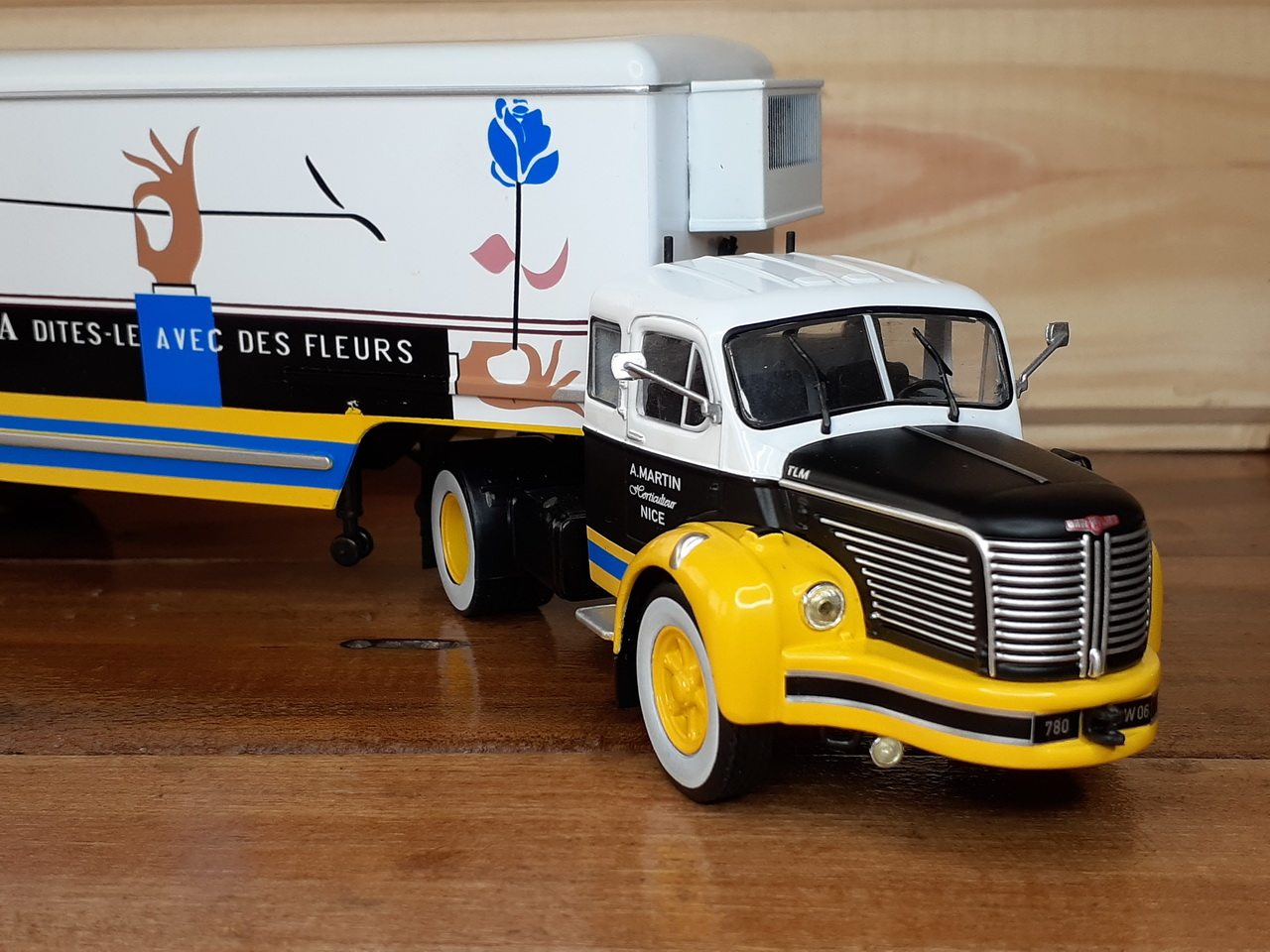 Berliet TLR 10M - 1953 - Interflora