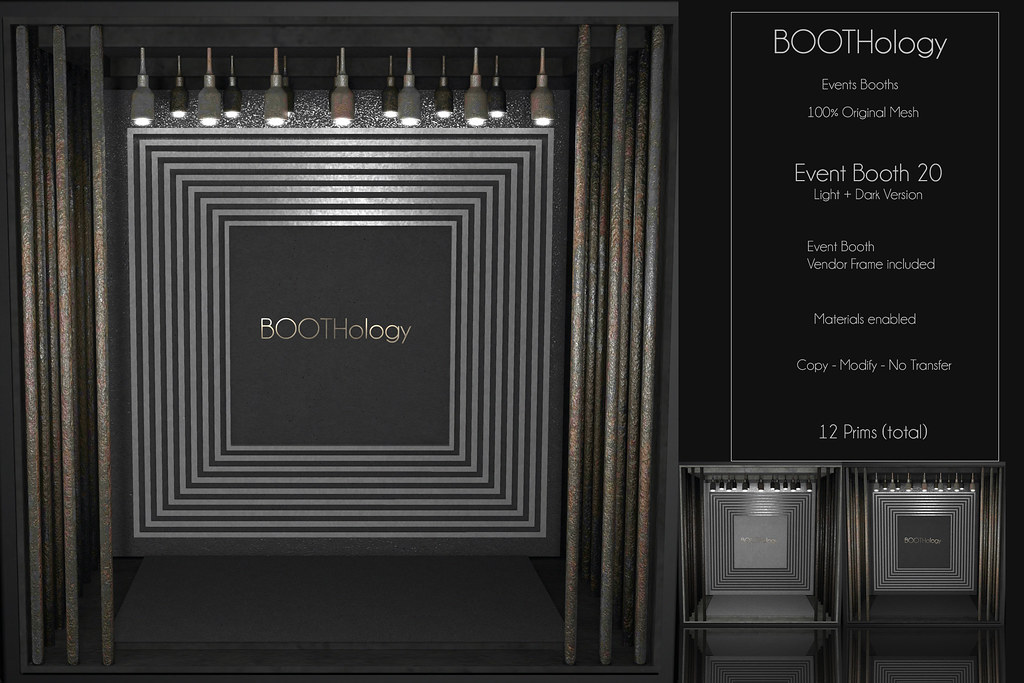Bothology - Event Booth 20 AD - Jail Event