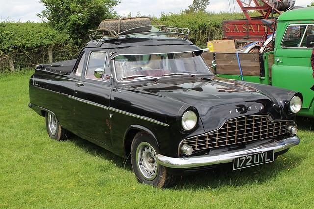116 Ford Zephyr (Mk.II) Highline Utility Coupe (Utr) (1957) 172 UYL