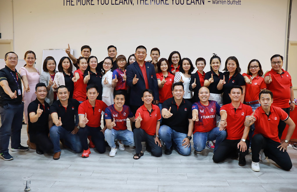 Đội ngũ head division PSD ERA Vietnam