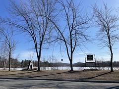 View of Parc Michel-Bedard - Cowansville - Spring 2021