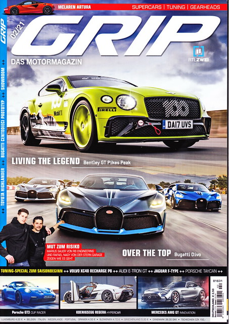 Image of GRIP - Das Motormagazin 2/2021