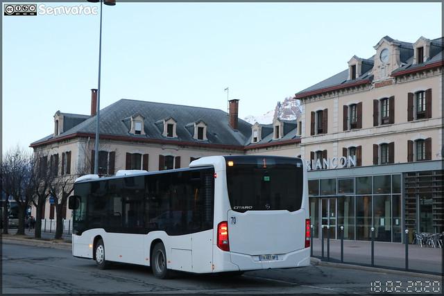 Mercedes-Benz Citaro K – Transdev Briançon / TUB (Transports Urbains de Briançon)