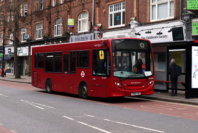 Rare Working: Route K1, London United, SDE20242, YY64TXC