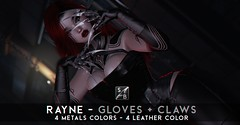 Skellybones - Rayne - Bento Gloves + Claws @ The Engine Room