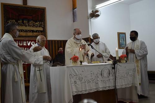 Año de San José: misa en Temperley