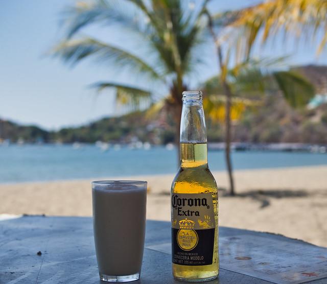 Drinking in Mexico (Ixtapa-Zihutanejo)