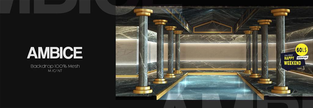 [AMBICE] – Palace Backdrop