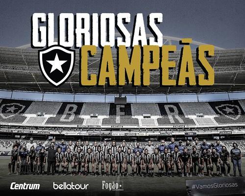 Botafogo - Campeão Carioca Feminino 2021