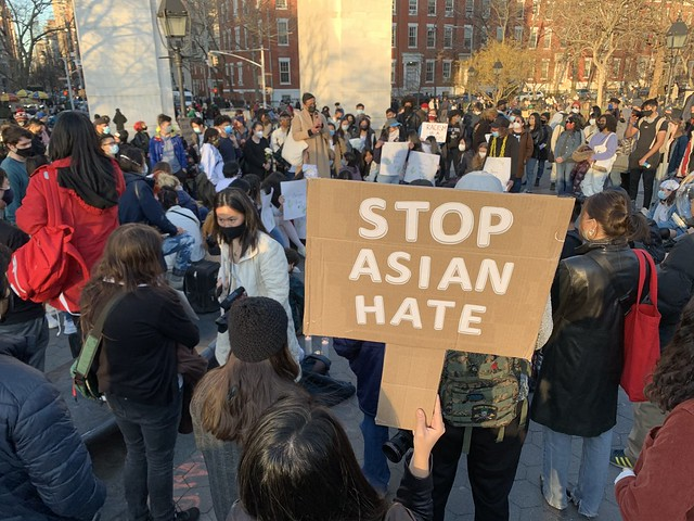 WSP Vigil for Asian Americans