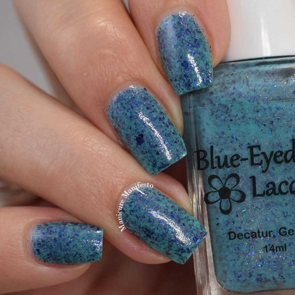 Blue Eyed Girl Lacquer Merman, Pops, MerMAN review