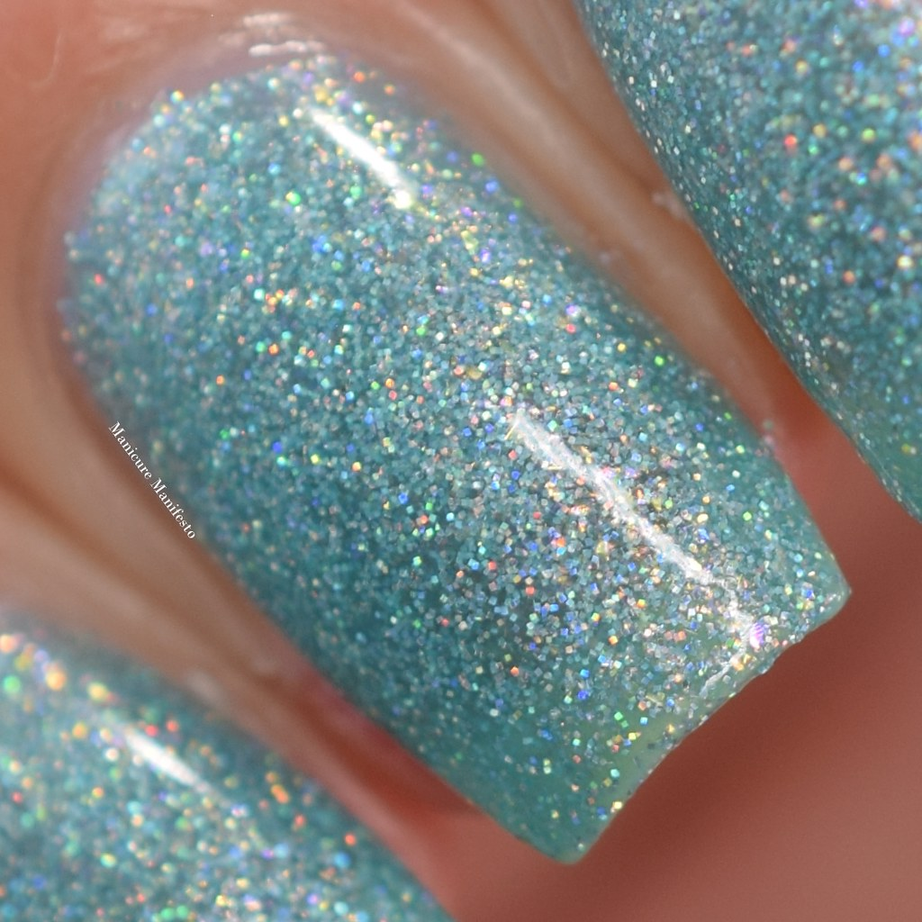Blue Eyed Girl Lacquer Siren's Curtain Call review