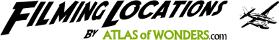 Filming Locations by Atlas of Wonders logo