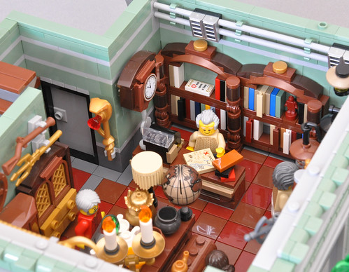 LEGO Modular Antique Shop