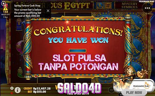 Judi-Slot-Mysterious-Egypt-Pragmatic-Play-SALDO4D