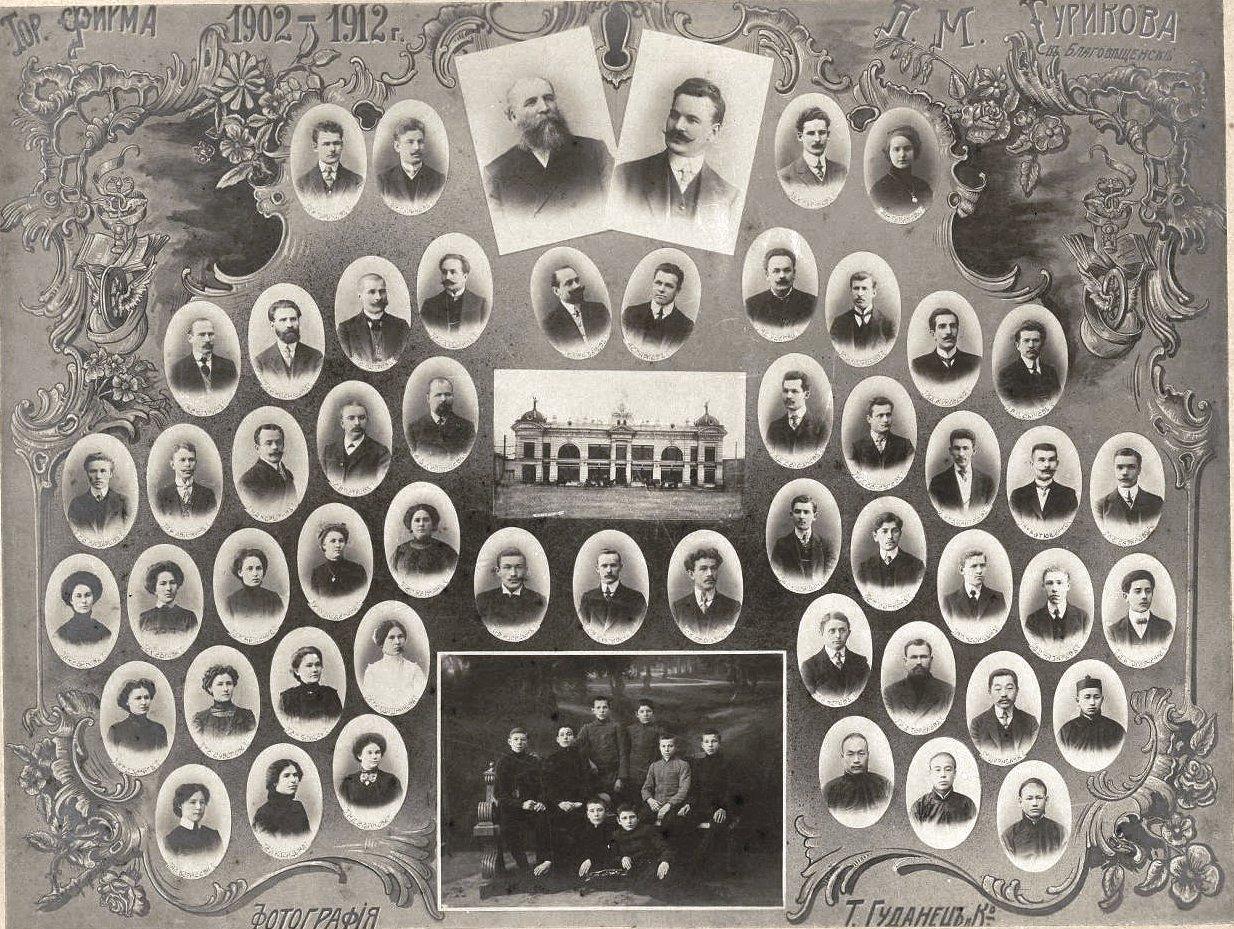 Торговая фирма П.М. Гурикова в Благовещенске в 1902-1912 годах