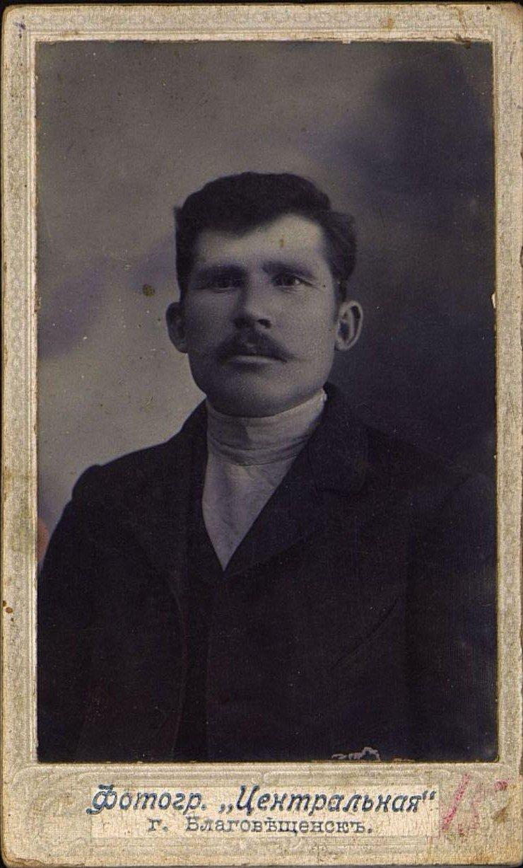 Реутов Лев Иванович, сельский учитель. 1914