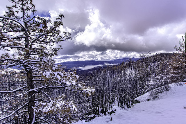 Shaver Lake in the Snow! (Explored)