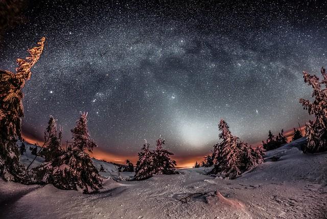 Zodiacal light - Slovakia