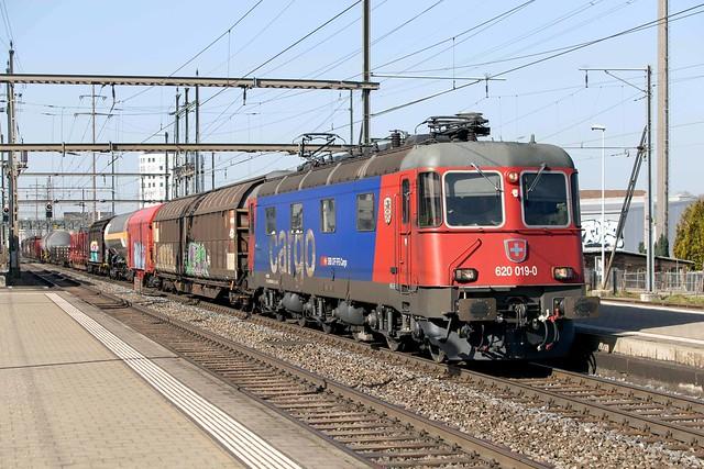 SBB Re 6/6 620 019 Pratteln