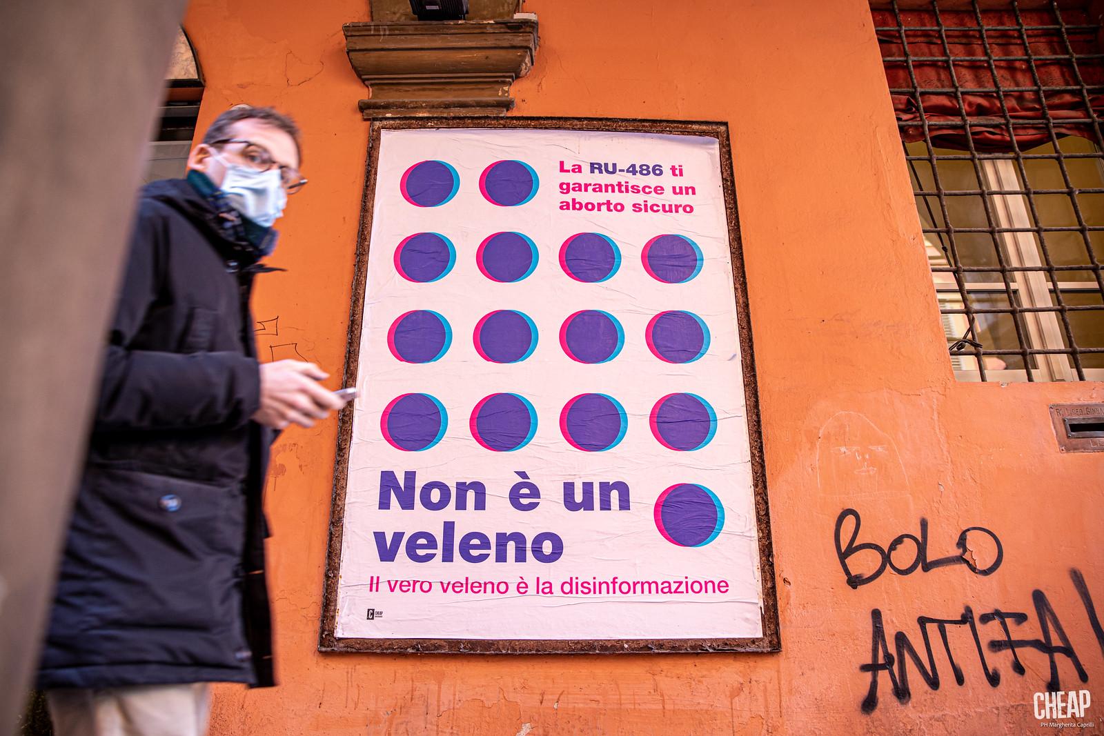 CHEAP x Non è un veleno | campagna nazionale femminista