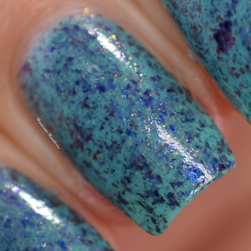 Blue Eyed Girl Lacquer Merman, Pops, MerMAN review