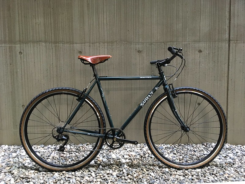SURLY Cross Check 105 Grey