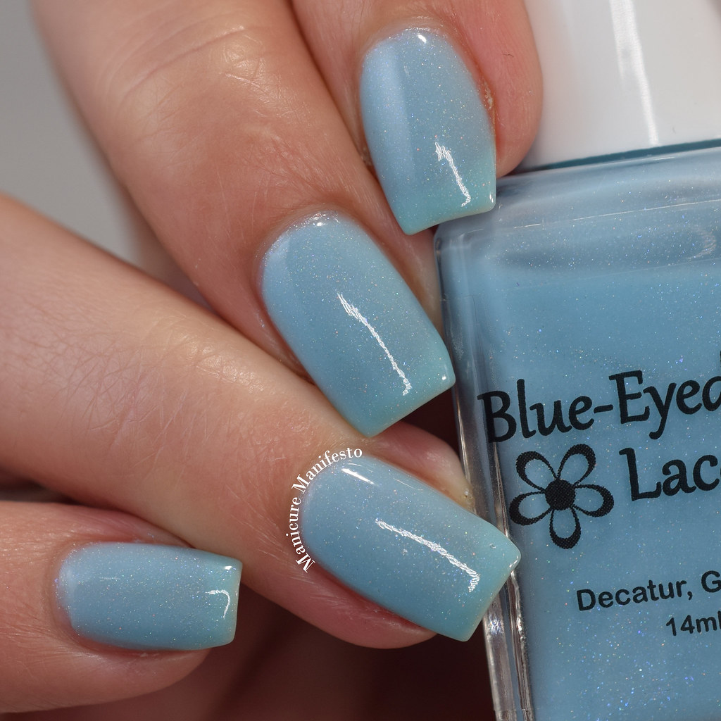 Blue Eyed Girl Lacquer The Best Blaze review