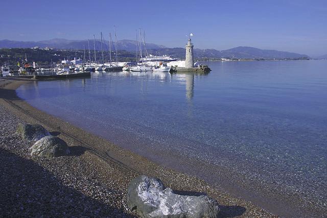 Saint  Nicholas beach and marina