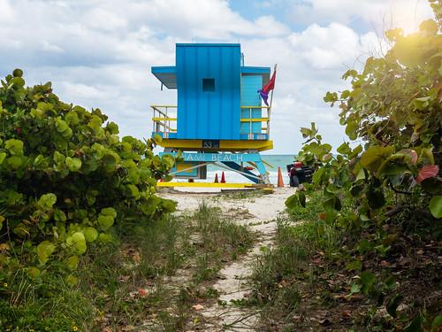 borisfxoptics clouds miamibeach photoshop iphonex beach lifeguardtower florida fl miami cloudporn coast iphone lifeguardshack playa water unitedstates