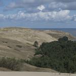 Vingio Dune facing Curonian Lagoon, 15.08.2019.