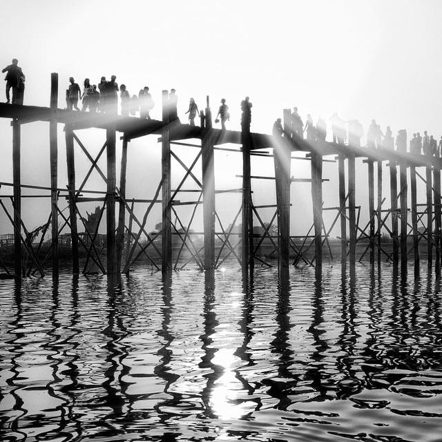 Le pont U-Bein à Amarapura