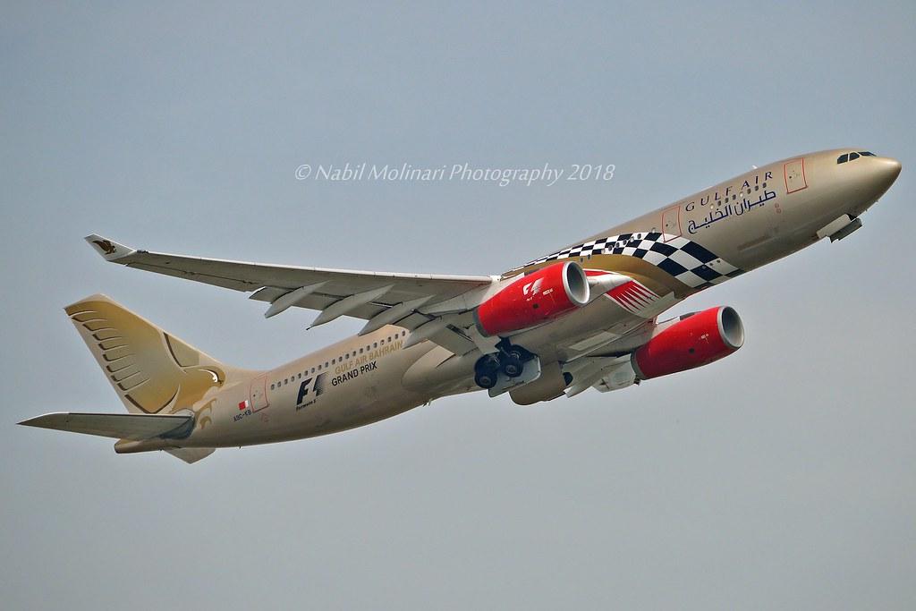 Gulf Air A9C-KB Airbus A330-243 cn/281