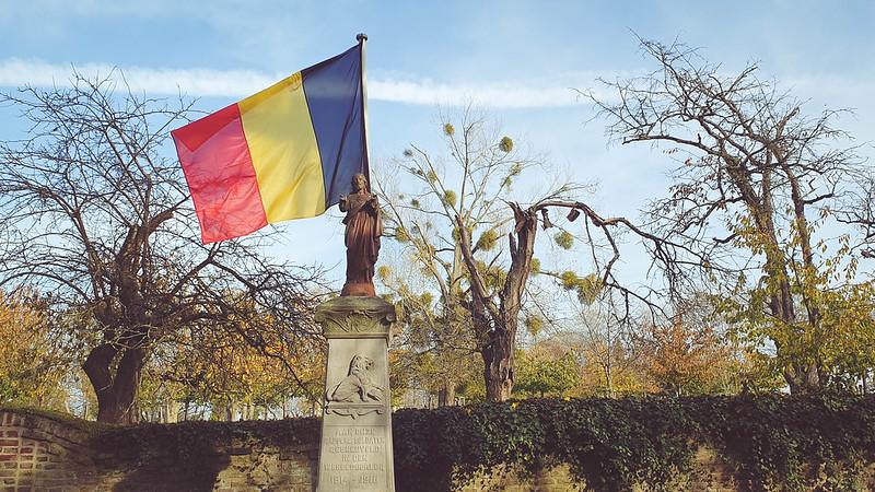 Aan onze dappere soldaten gesneuveld in den Wereldoorlog