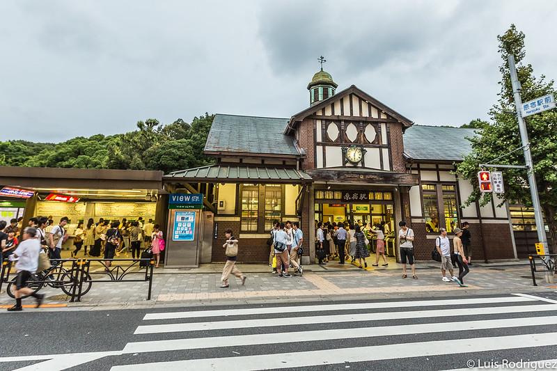 Antigua estación de Harajuku