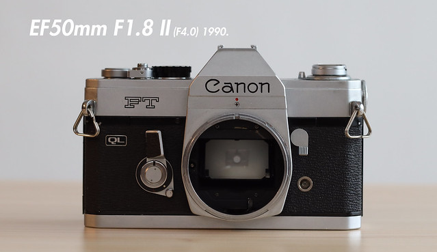 EF50mm f1.8 II (f4.0)