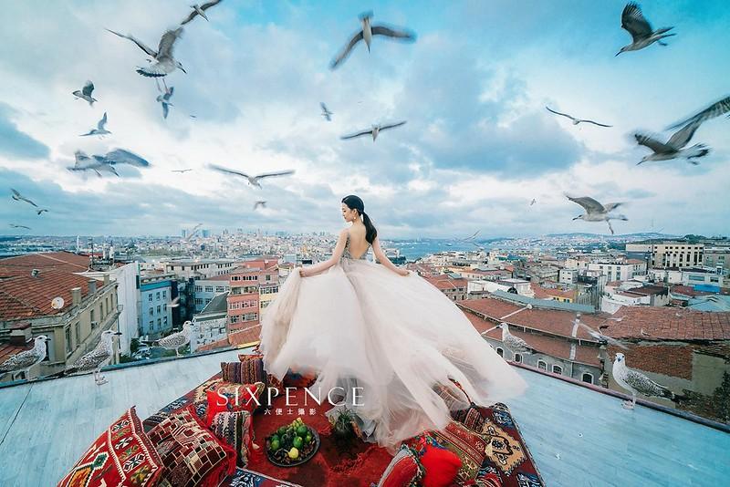 時尚風婚紗
