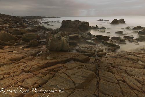 australia queensland sunshinecoast pointarkwright bay rocks ocean landscape seascape longexposure timeexposure sunrise dawn