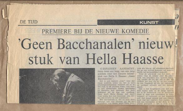 HellaHaasseGeenBacchanalen 01 DeTijd19711213
