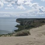 Agila Dune facing Curonian Lagoon, 15.08.2019.