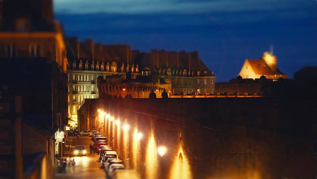 St. Malo by night