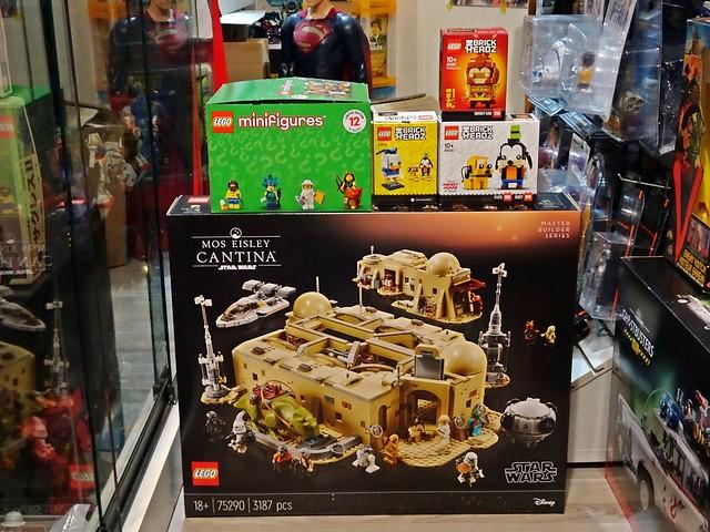 Recent Arrivals – More LEGO sets – As at 21 Mar 2021