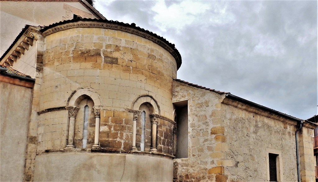Turégano - Ábside románico Iglesia de Santiago - Segovia