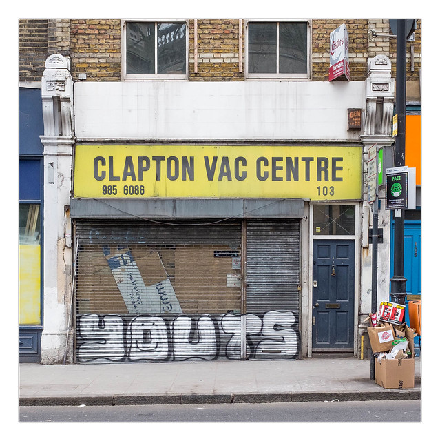 The Built Environment, Clapton, Hackney, East London, England.