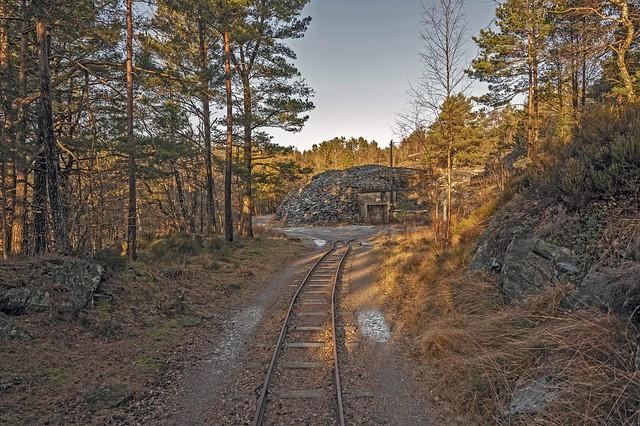 Railway to bunkers Batteri Vara
