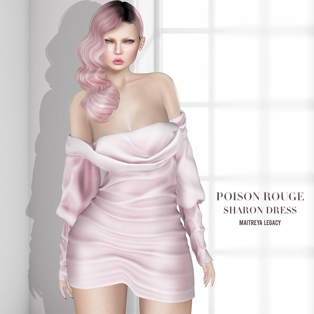 POISON ROUGE Sharon Dress @Cosmopolitan