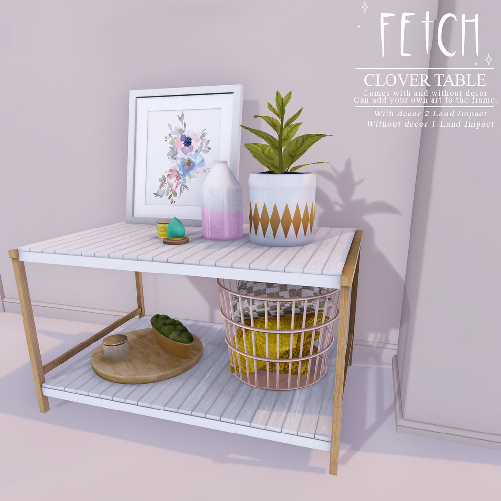 [Fetch] Clover Table @ Bloom!