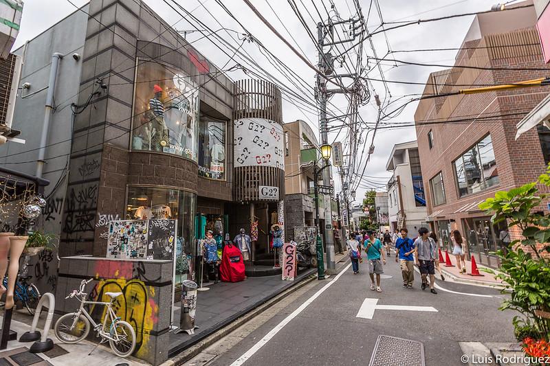 Calles de Harajuku